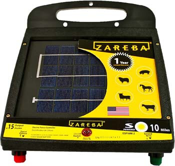 Zareba ESP10M-Z 10-Mile Solar Low Impedance Electric Fence Charger