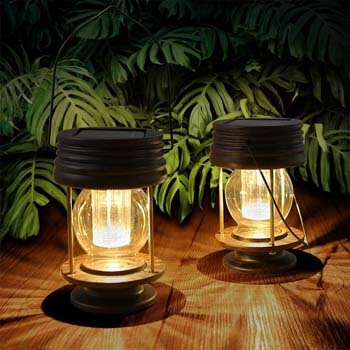 Pealstar Hanging Solar Light