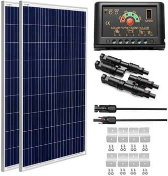 5. Sungoldpower off-grid Solar Panel Kit