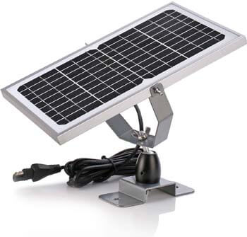 SUNER POWER 12V Waterproof Solar Battery Trickle Charger & Maintainer