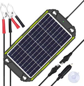 Sun Energise Waterproof 12V 10W Solar Battery Charger Pro