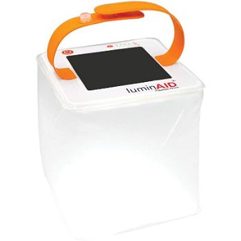 9. LuminAID Solar Inflatable Lanterns | Great for Camping, Hurricane Emergency Kits, and Travel